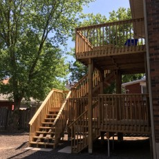 New Large Deck