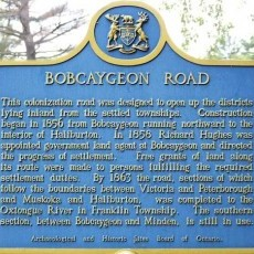 Bobcaygeon (20 Mins. away)